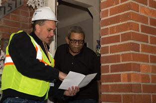 DTE Gas employees check on seniors who may be without electric power
