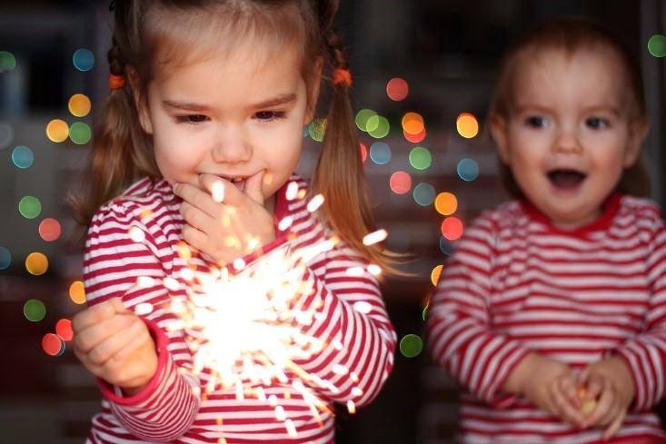 4 festive ideas for celebrating New Year's with the kids