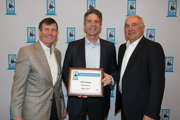 DTE Energy earns top industry award for historic windstorm power restoration