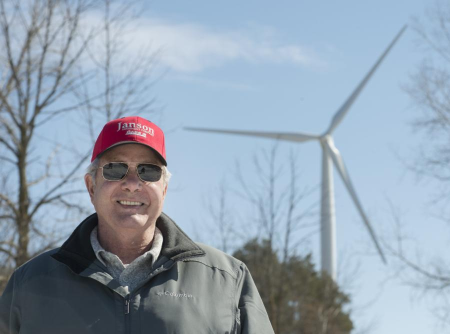 Wind energy helping Michigan win against pollution